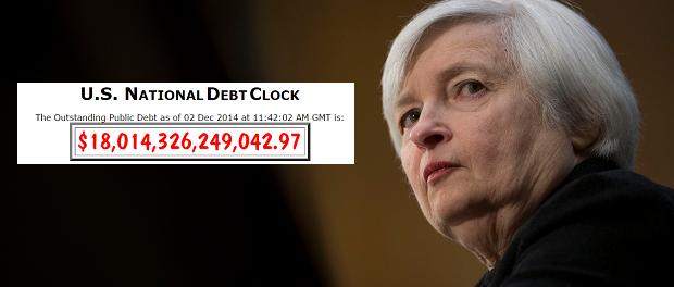 Janet Yellen Debt