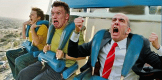 Stock Market Roller Coaster Freakout