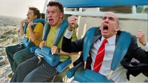 Stock Market Roller Coaster Freakout