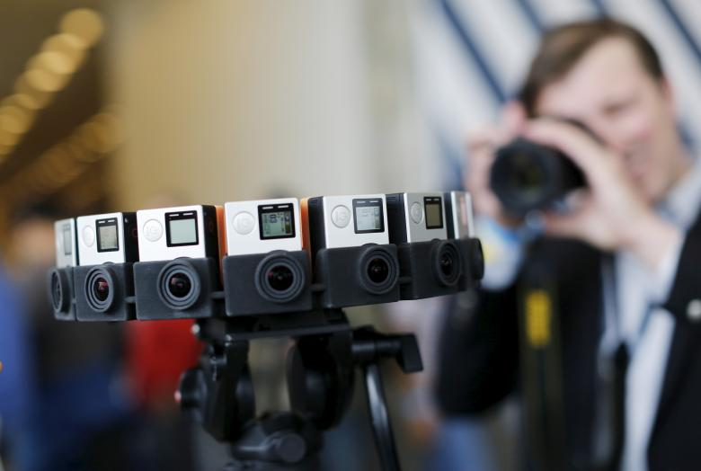 GoPro third quarter revenue drops, cuts full-year forecast